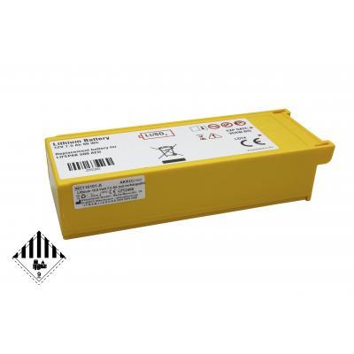 AKKUmed Lithiumbatterie passend für Physio Control Defibrillator Lifepak 500 - 300-5380-030, 11141-000016 (UN3480)