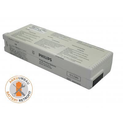 AKKUmed Blei Akkuumbau passend für HP, Philips Pagewriter Trim I, II, III - PH989803130151