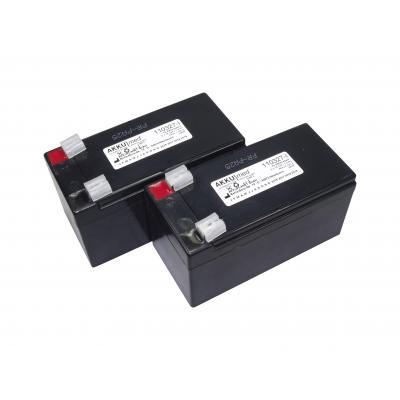 AKKUmed Blei Akkueinsatz passend für Stiegelmeyer Intensivbett Epostyle, Seta - BA20003-00, CB1663X