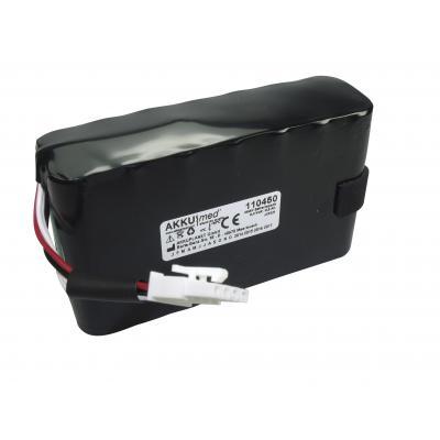 AKKUmed*CE  NiMH Akku passend für GE Marquette Monitor Dash 2500 Typ 2023227-001 8,4 Volt 8,0 Ah